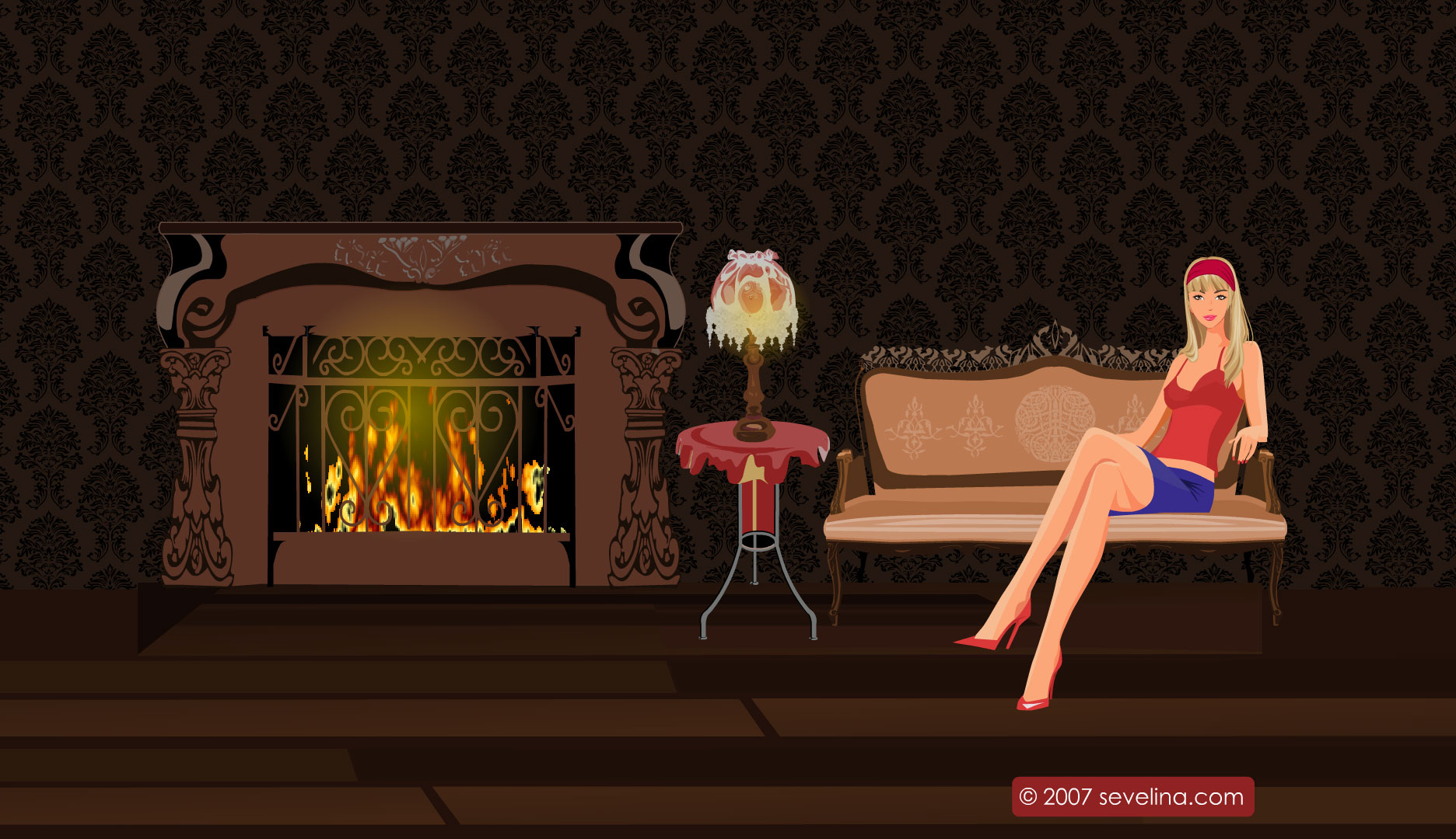 screensaver stay relax at fireplace o sevelina games for girls o