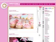 Free PINK WordPress theme for girls