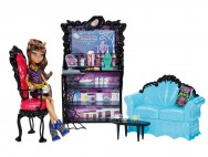 Clawdeen Wolf coffin bean play set (Monster High)