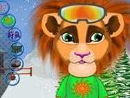 ➣ Skiing lion ➣