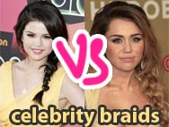 ❤ Celebrity braids battle ❤