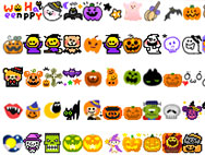300+ set of cute halloween Icons