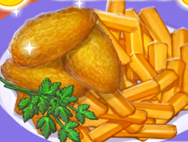═╬ Nuggets with french fries ╬═