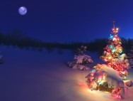 winter christmas-Wallpaper-45
