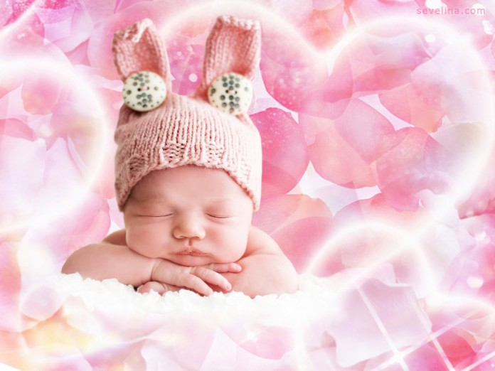 Baby Bunny romantic valentine wallpaper 2014