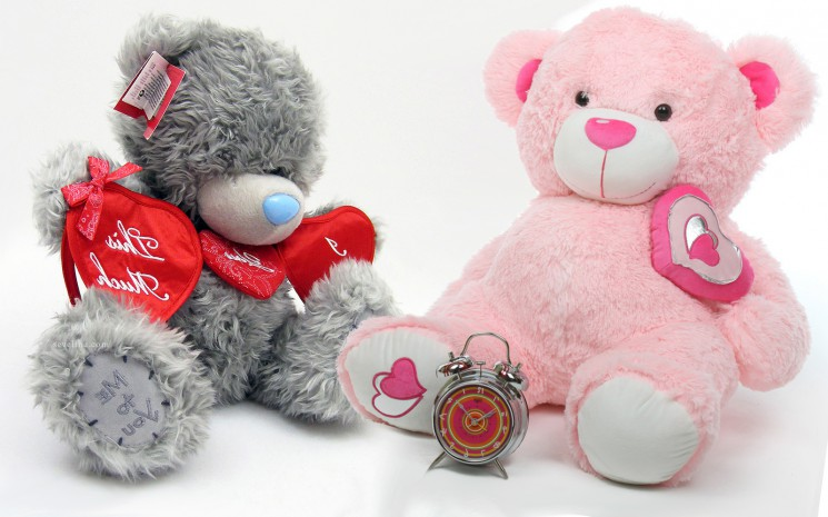 cute teddies bear love you valentine day wallpaper 2014