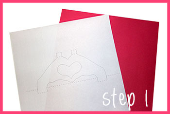 cute  velentin's day 2014 card tutorial