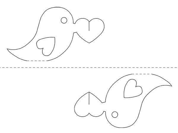 Tweet the love valentines pop up card template for Free popup card templates