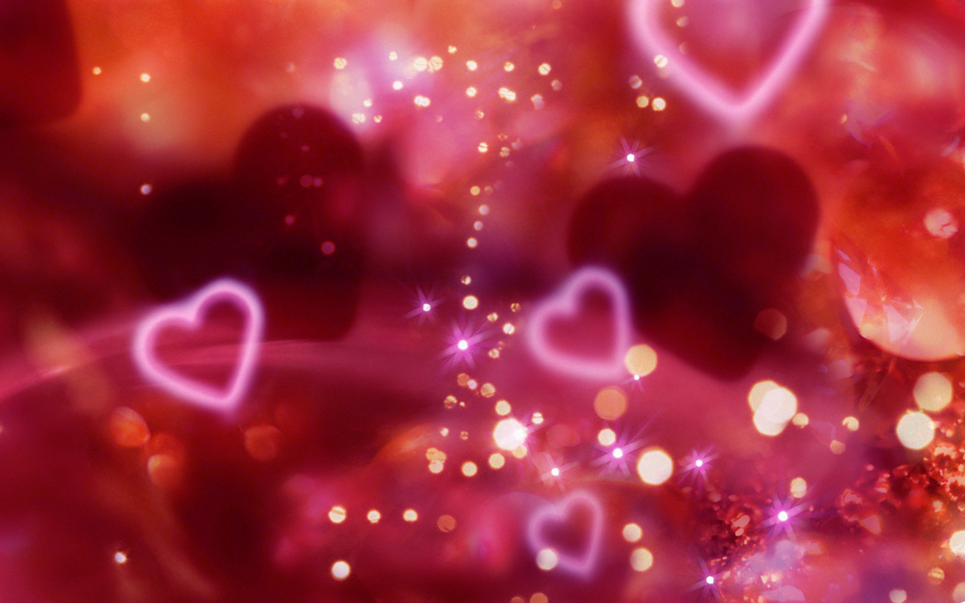 valentine day love wallpapers hearts 2014