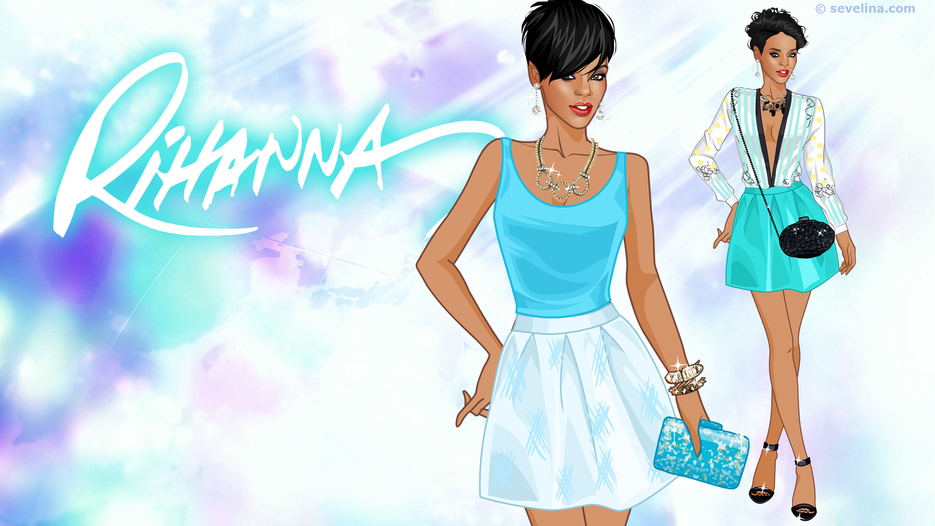 Rihanna Wallpapers Full Hd Sevelina Games For Girls
