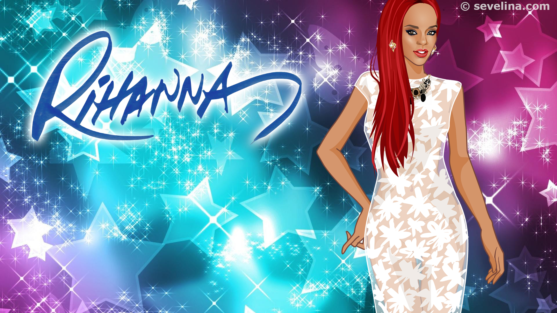rihanna wallpapers 2014 Full HD SEVELINA