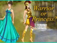 Dress up Quiz: Warrior or Princess?