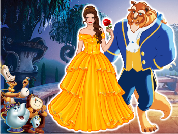 Beauty and the beast – Dress Up