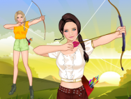 🏹 Archery girl
