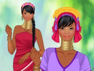 Padaung tribe fashion