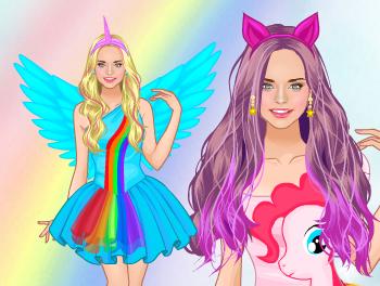 🌈 Dress like Pony ❤