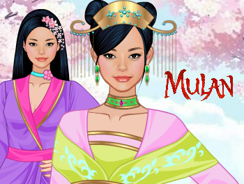 Mulan Dress Up