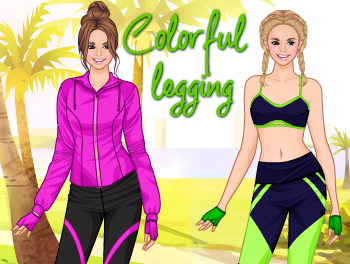 Colorful legging
